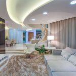 Sử dụng đèn led âm trần khiến không gian nội thất thêm đẳng cấp