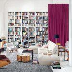 Sử dụng rèm để phân cách các phòng khi trang trí nội thất